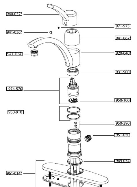 Moen Kitchen Faucet Repair Diagram Kitchen Faucet Diagram Kitchen Free Engine Image For User Manual