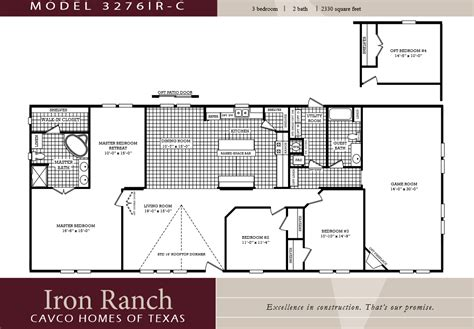 5 Bedroom 3 Bath Mobile Home Floor Plans by 3 Bedroom Ranch Floor Plans Large 3 Bedroom 2 Bath