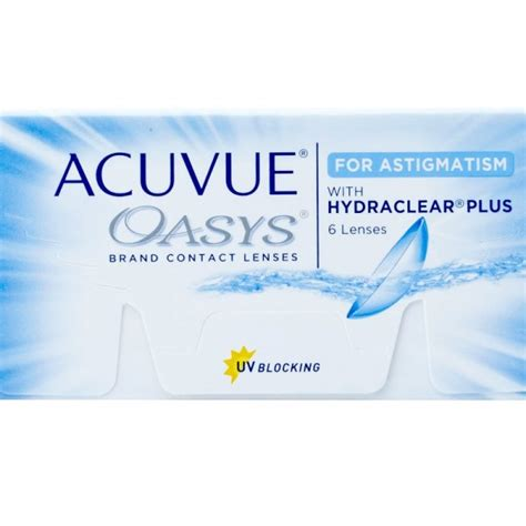 acuvue oasys  astigmatism contacts