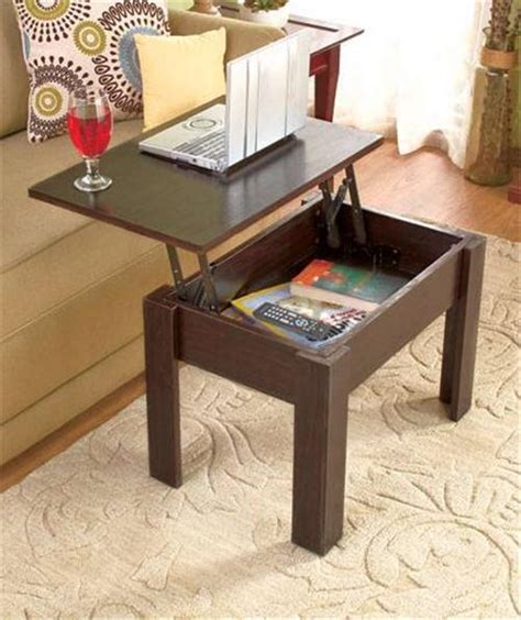 new lift top wood coffee table storage modern