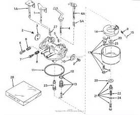 tecumseh walbro 631768 parts diagram for carburetor