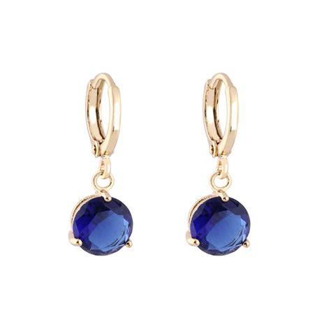 Retro Drop Earring fashion jewelry dangle 18k gold filled