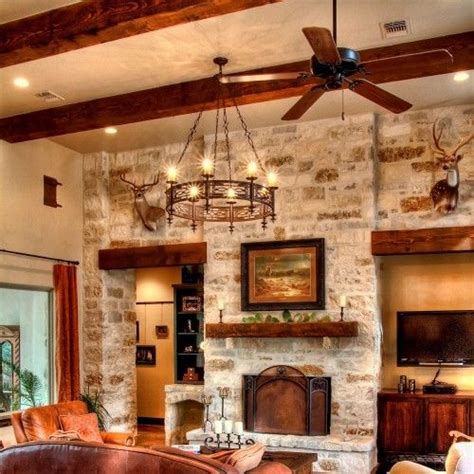 interior in home hill country home home decor