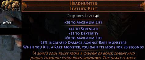 headhunter leather belt d2jsp topic