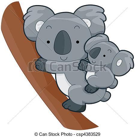 clipart koala illustration de mignon koala csp4383529 recherchez des