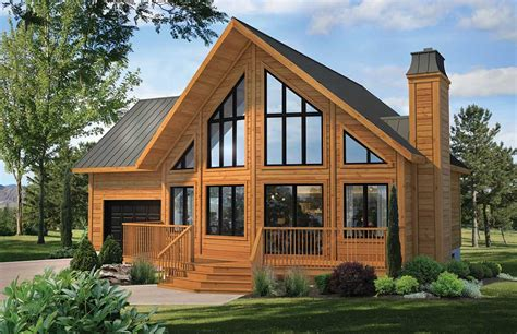 Ranch Style Homes by Classic Series Timber Block