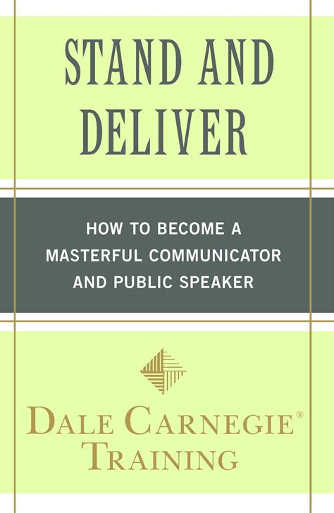 Stand And Deliver Dale Carnegie stand and deliver by dale carnegie wywl podcast adam