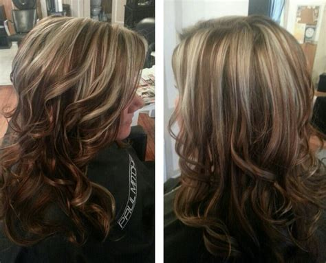 caramel lowlights blonde hair caramel and blonde highlights pinterest crafts
