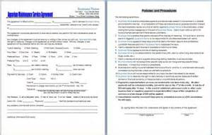 cleaning service contract free printable documents