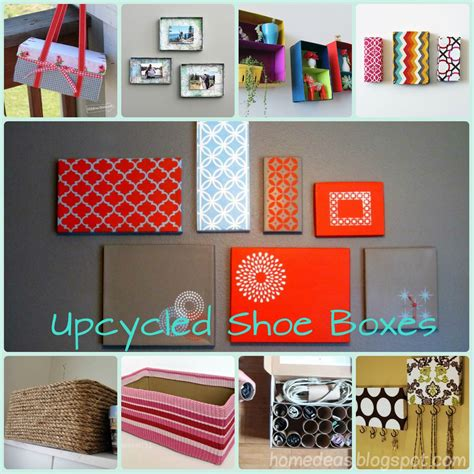 upcycled shoe boxes  love  painted tops  wall decor