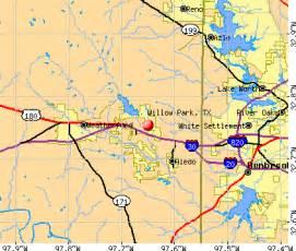 willow park tx 76087 profile population maps