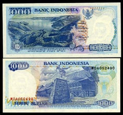Uang Kuno 1000 Rupiah Tahun 1992 1998 Series 5 indonesia ku indonesia gambar mata uang rupiah dari dulu