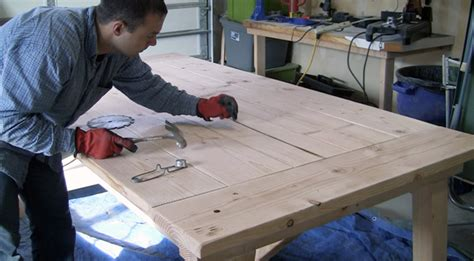 12 Foot Dining Room Tables how to build a farmhouse table