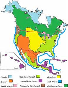 Biome Map Of North America parkerwiki0910 biomes