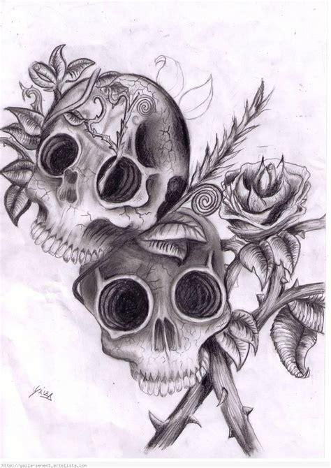 imagenes de calaveras a lapiz calaveras diabolicas para dibujar a lapiz imagui
