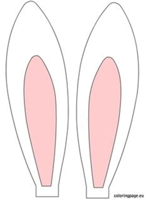 easter bunny ears headband template 1000 images about silhouette easter on