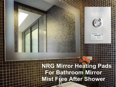 Bathroom Mirror Heater Pad Bathroom Mirror Heater Reversadermcream