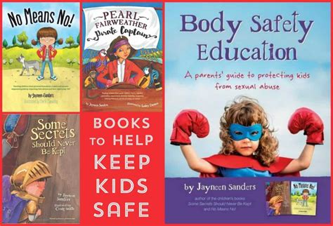 And Safety Educator safety education books to help prevent sexual abuse