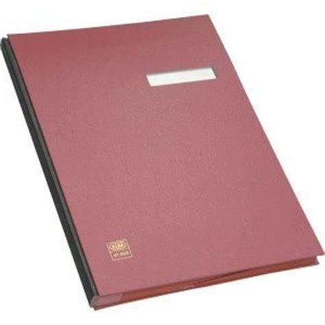 Elba Signature Book A4 E41403 elba 41403 signature book 20 compartments pvc cover