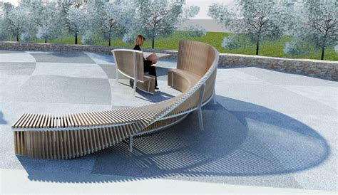 sculpture bench council accepts new funky bench sculptures for bayside