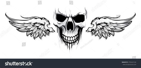 skull with wings tattoo skull and wings www imgkid the image kid