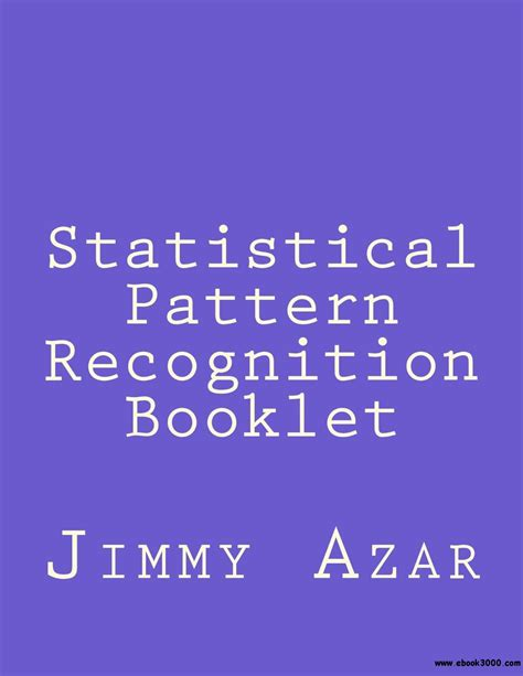 pattern recognition for dummies statistical pattern recognition booklet free ebooks download