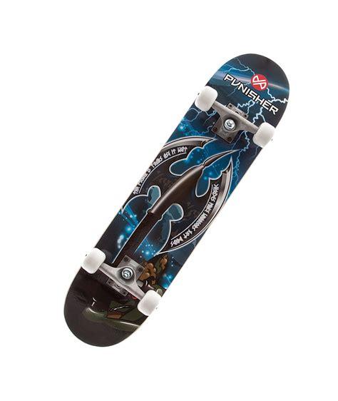 complete decks punisher skateboards warrior complete