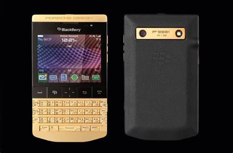 p9981 porsche design porsche design announce the gold blackberry p 9981