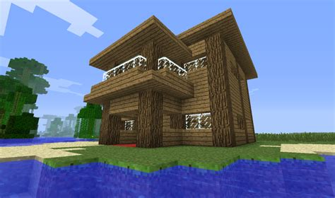 minecraft wooden house design minecraft small wooden house design best house design minecraft small wooden house plan