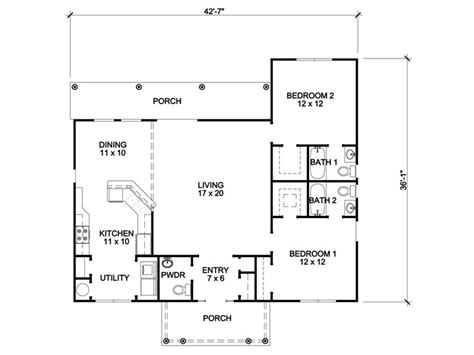 empty nester home plans affordable empty nester house