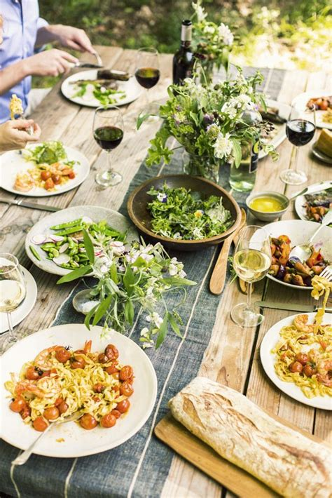 Summer Garden Menu Ideas How To Style Your Summer Garden Entertaining