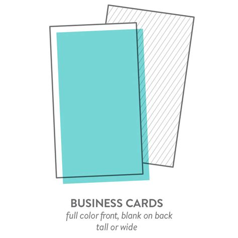 2x3 5 business card template business cards specialty printing marketing and