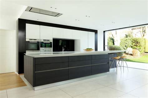corian schwarz designer corian 174 k 252 che mit kochinsel modern offen und