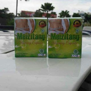 Obat Pelangsing Tubuh Bangle Herbal Alami Pelangsing Tubuh jual meizitang slimming kapsul pelangsing bpom
