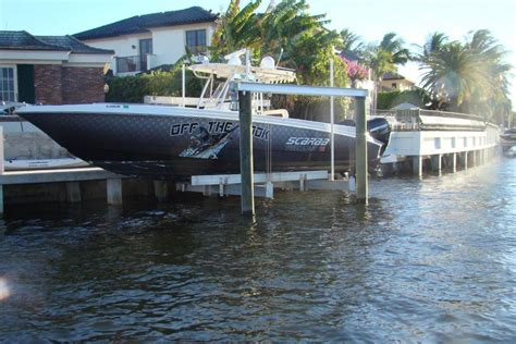 hurricane boats lifts 20k hurricane cradle high speed boatlift all power