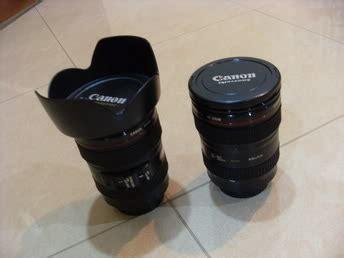 Mug Gelas Stainless Ukuran 10 Cm akos kios mug cangkir bentuk lensa canon nikon