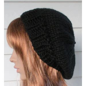 womens knit hat black beanie beret back to school fall