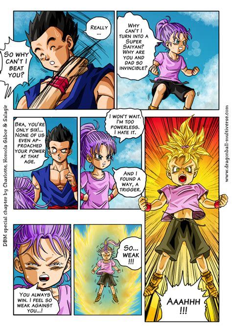 Porn Comics Of Dragon Ball Z - universe 16 son bra s little problem page 1227 dragon