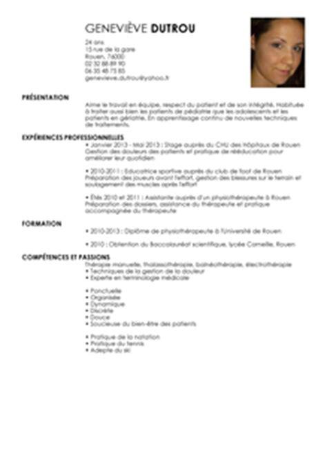 Lettre De Motivation De Stage Kinésithérapeute Cv Physioth 233 Rapeute Exemple Cv Physioth 233 Rapeute Livecareer