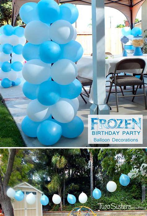 Frozen Balloon Decorations » Home Design 2017