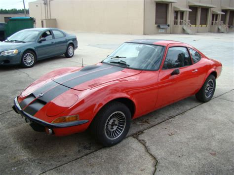 1973 Opel Gt by 1973 Opel Gt For Sale Low And New Paint Classic