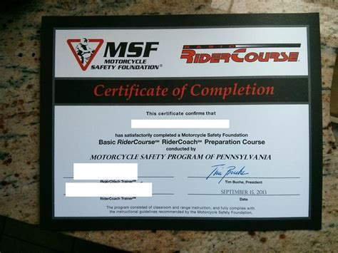 texas boating license classes motorcycle safety course completion certificate online