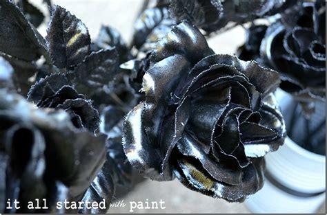 spray painted flowers - Spray Painted Roses