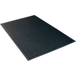 notrax soil guard rubber floor mat 3ft x 5ft model