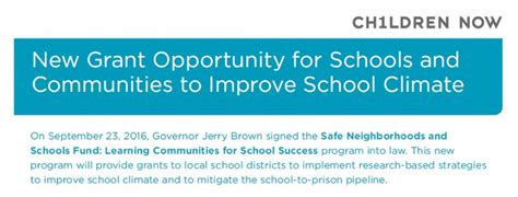 california community schools network new grant
