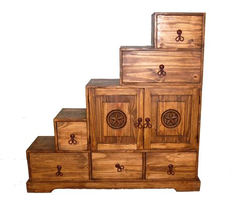 tansu 5 step chest great western furniture company