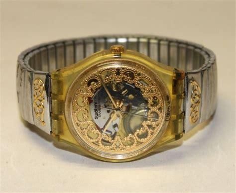 vente aux ench 232 res swatch swiss montre bracelet pour