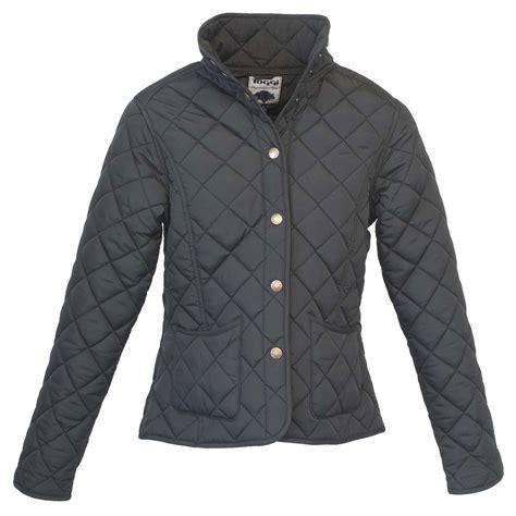 toggi sandown quilted jacket black