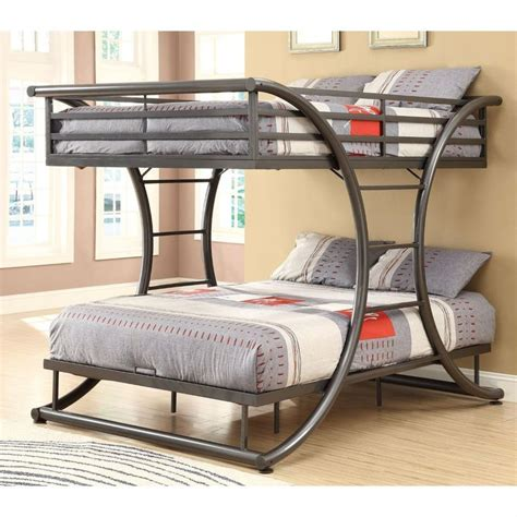loft bed frame full 1000 ideas about metal bunk beds on pinterest bunk beds