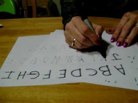 how to a 3 year teaching how to write the abc s and 123 s to 3 and 4 year olds mov